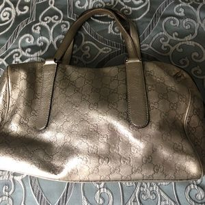 Authentic Leather Gucci Bag